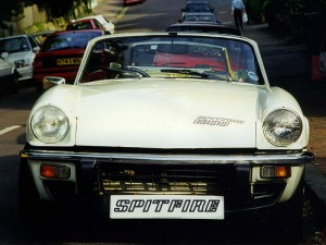 Photo of Triumph Spitfire - Front view in Tunbridge Wells