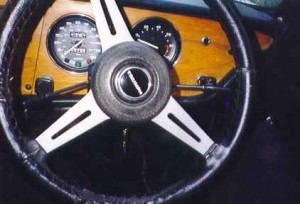 Photo of Triumph Spitfire Steering Wheel